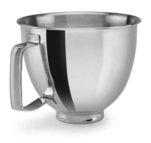 KitchenAid KSM35SSFP 3.5 Quart Polished Stainless Steel Bowl with Handle