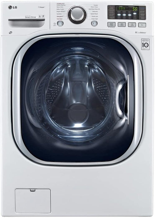 LG WM3997HWA 5.0 cu. ft. Front Load All-In-One Electric Washer-Dryer Combo in White