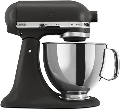 KitchenAid KSM150PSBK Artisan Series 5 Quart Tilt-Head Stand Mixer In Imperial Black