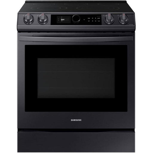 Samsung NX60T8711SG/AA 6.0 Cu.Ft. Gas Range with 22K double burner and Air Fry In Black Stainless Steel