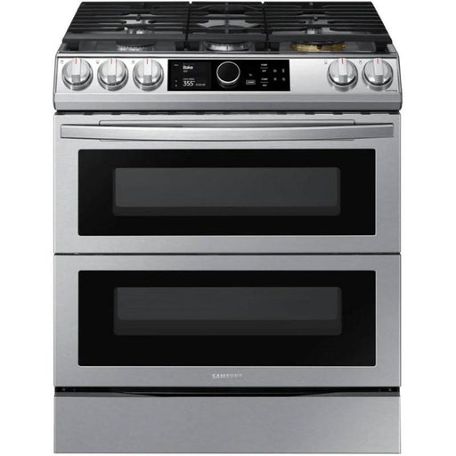 Samsung NY63T8751SS/AC 6.3 Cu. Ft. Dual Fuel Range with True Convection and Air Fry In Stainless Steel