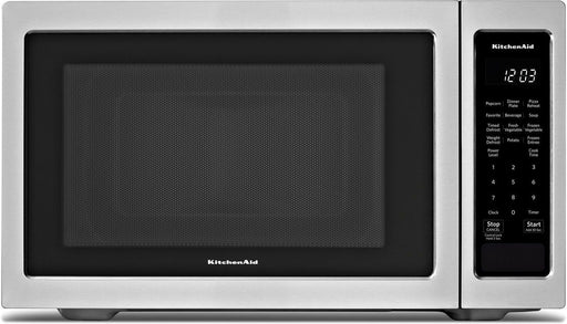 KitchenAid YKMCS1016GS Countertop Microwave (1.6 Cu. Ft.) - Stainless Steel