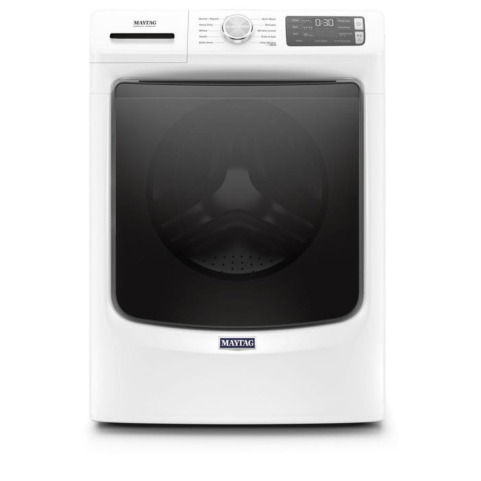 Maytag MHW5630 5.2 Cube Feet Front Load Washer With Extra Power And 12-Hour Fresh Spin Option - White