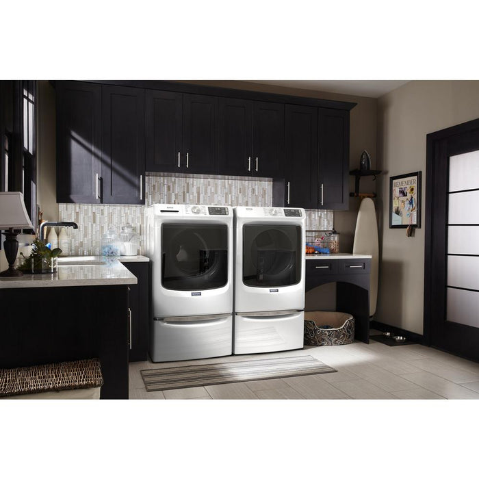 Maytag MHW6630HW 5.5 Cube Feet Front Load Washer With Extra Power And 16-Hour Fresh Hold Option - White