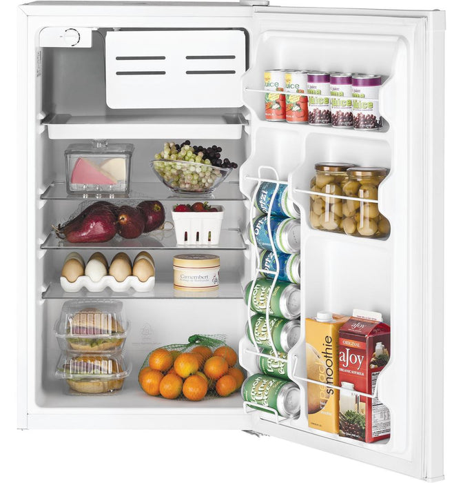 GE GME04GGKWW Compact Refrigerator in White