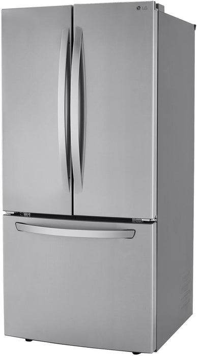 LG LRFCS2503S 25 Cu. Ft. French Door Refrigerator in Stainless Steel