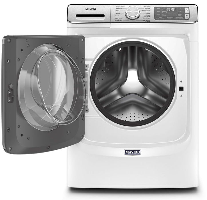 Maytag MHW8630HW 5.8 Cube Feet Smart Front Load Washer With Extra Power And 24-Hour Fresh Hold Option - White