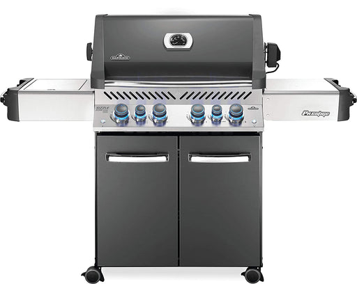 Napoleon P500RSIBPCH-3 PRESTIGE 500 RSIB with Infrared Side and Rear Burners In Grey