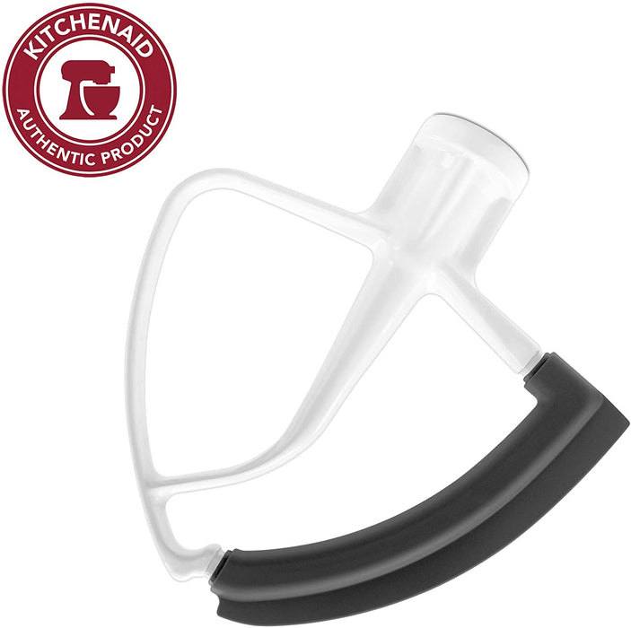 KitchenAid - KFE5T Tilt-Head Flex Edge Beater - White