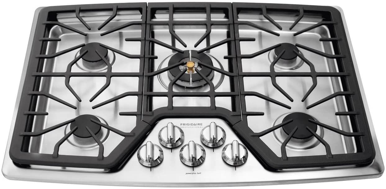 "Frigidaire Professional 30"" Stainless Steel Gas Cooktop FPGC3087MS"