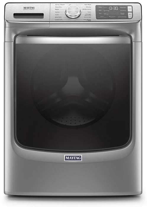 Maytag MHW8630HC 5.8 Cube Feet Smart Front Load Washer With Extra Power And 24-Hour Fresh Hold Option - Metallic Slate