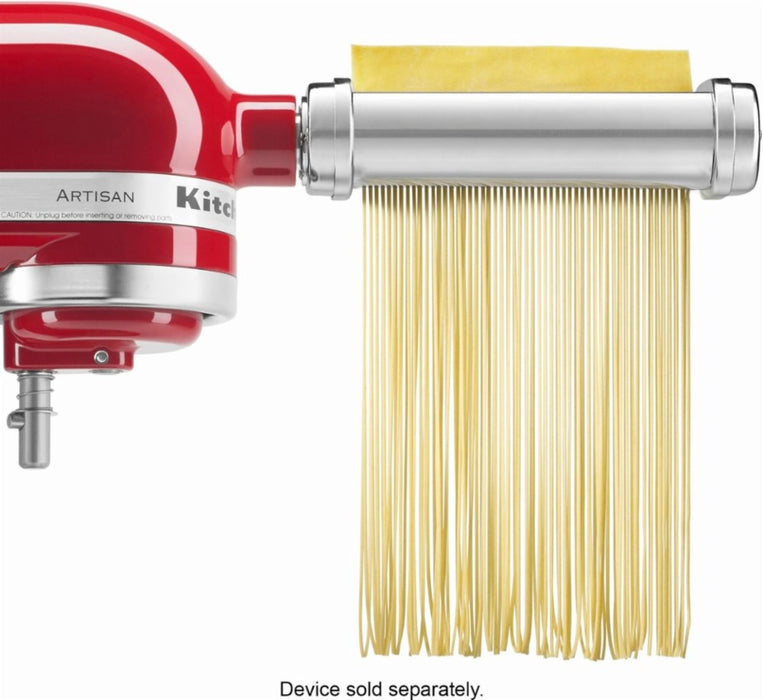 KitchenAid KSMPRA Pasta Roller Attachments for Most KitchenAid Stand Mixers - Stainless-Steel - Attachments - KitchenAid - Topchoice Electronics