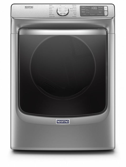 Maytag YMED8630HC 7.3 Cube Feet Smart Front Load Electric Dryer With Extra Power And Advanced Moisture Sensing With Industry-Exclusive Extra Moisture Sensor In Metallic Slate