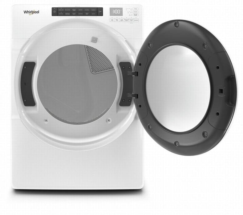Whirlpool YWED5620HW 7.4 Cube Feet Front Load Electric Dryer With Intuitive Touch Controls In White