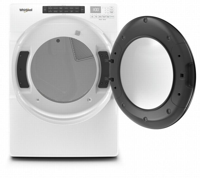 Whirlpool YWED6620HW 7.4 Cube Feet Front Load Electric Dryer with Steam Cycles In White