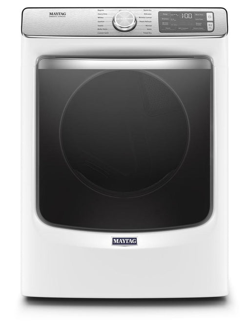 Maytag MGD8630HW 7.3 Cube Feet Front Load Gas Dryer With Extra Power And Advanced Moisture Sensing With Industry-Exclusive Extra Moisture Sensor In White