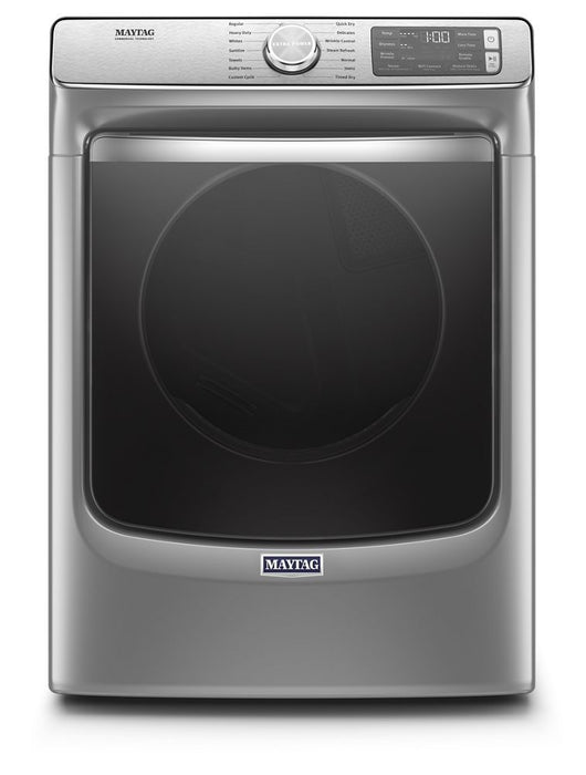 Maytag MGD8630HC 7.3 Cube Feet Smart Front Load Gas Dryer With Extra Power And Advanced Moisture Sensing With Industry-Exclusive Extra Moisture Sensor In Metallic Slate