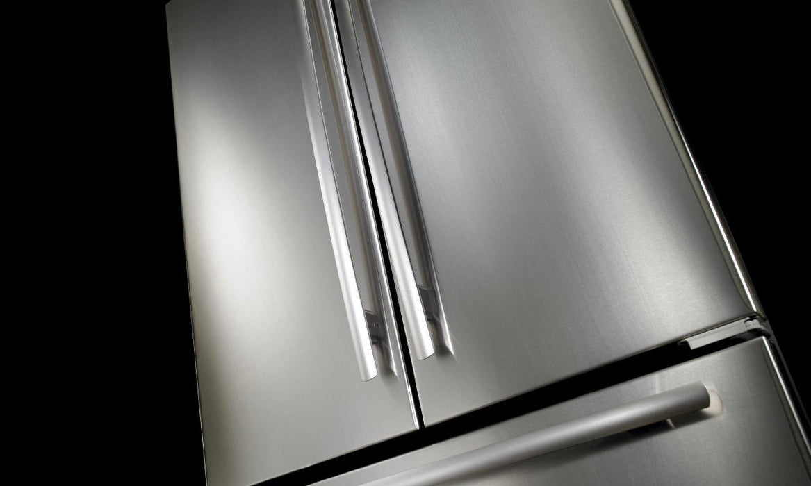 "Jenn-Air JFC2290REM 72"" Counter Depth French Door Refrigerator - Euro Style Stainless Steel handle - Refrigerator - Jenn-Air - Topchoice Electronics"