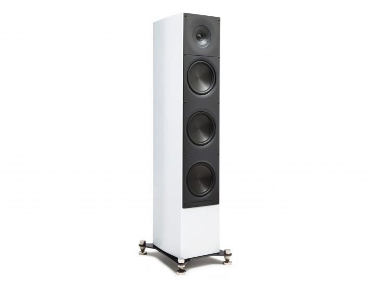 "ELAC ADANTE Series 6.5"" Floorstanding Speaker - White High Gloss - AF-61GW (Each) - Speakers - ELAC - Topchoice Electronics"
