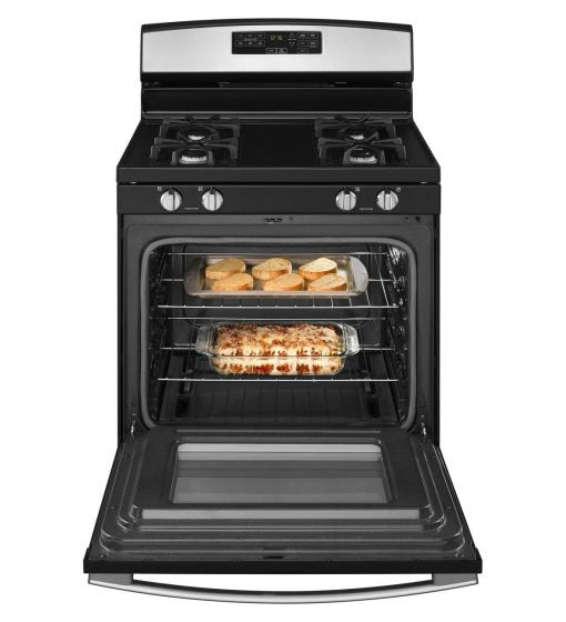 Amana AGR6603SFS 30-Inch Gas Range With Self-Clean Option in Stainless Steel