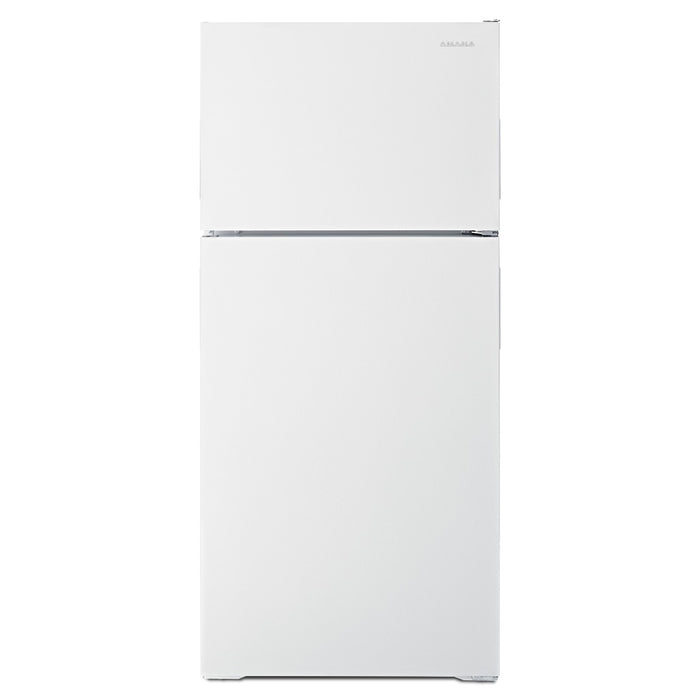 Amana ART316TFDW 16 Cu. Ft. Top-Freezer Refrigerator With More Storage Capacity in White