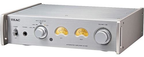 Teac Integrated Amplifier with balance analog input - AX-501 Silver