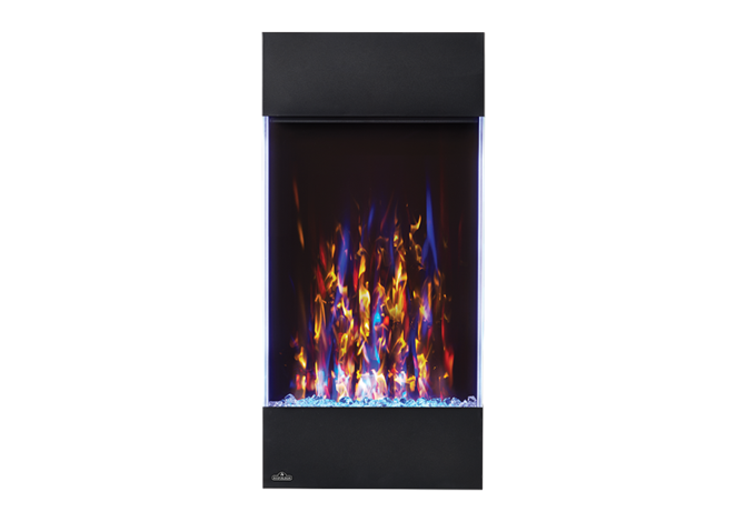 Napoleon NEFVC32H Electric Vertical 32 Inch Wall Hanging Electric Fireplace