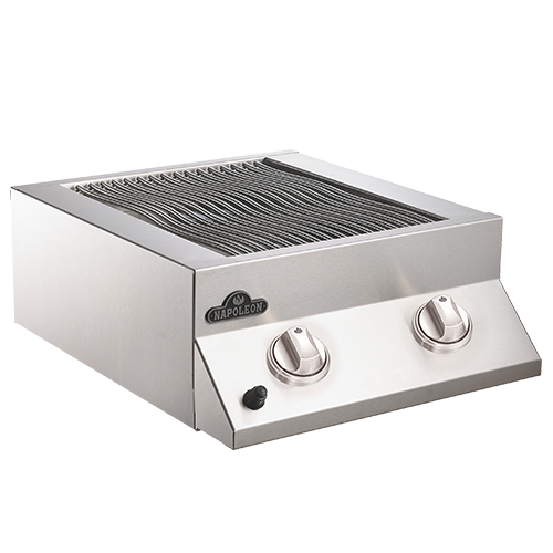 Napoleon Built-in Flat Top Dual Side Burner - BBQ Grill Attachments - Napoleon - Topchoice Electronics