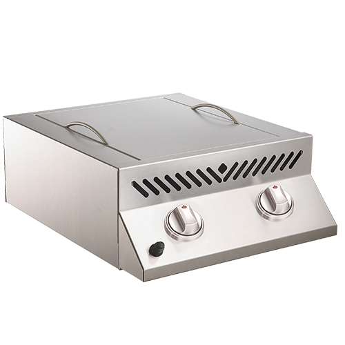 Napoleon Built-in Flat Top SIZZLE ZONE Head with Two Infrared Burners - BBQ Grill Attachments - Napoleon - Topchoice Electronics