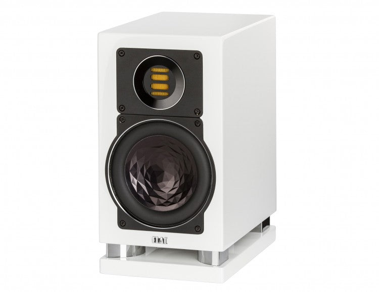 ELAC LINE 400 Series Bookshelf Speakers - White High Gloss - BS403-GW (Pair) - Special Order - Speakers - ELAC - Topchoice Electronics