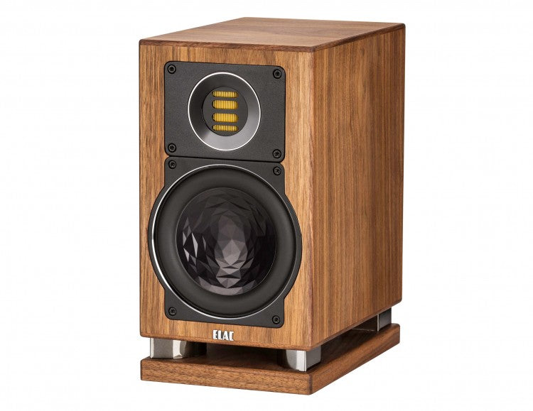 ELAC LINE 400 Series Bookshelf Speakers - Walnut High Gloss - BS403-GN (Pair) - Special Order - Speakers - ELAC - Topchoice Electronics