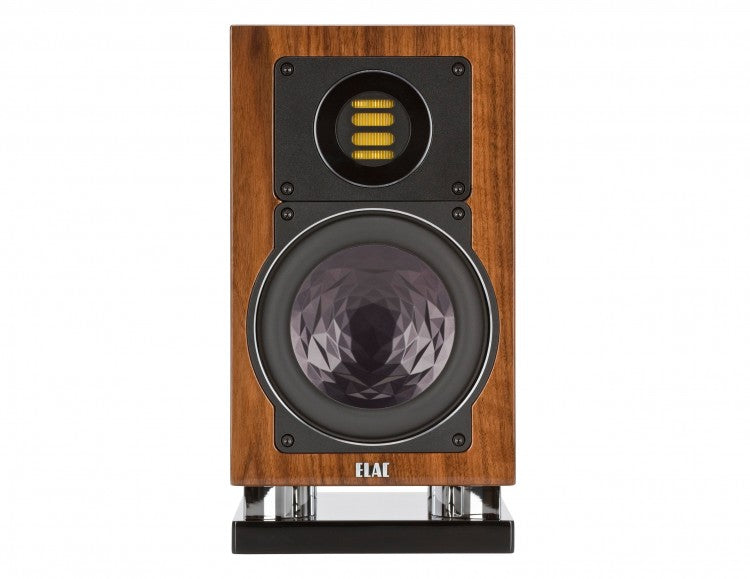 ELAC LINE 400 Series Bookshelf Speakers - Walnut Oiled - BS403-ON (Pair) - Special Order - Speakers - ELAC - Topchoice Electronics