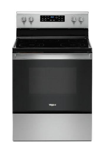 Whirlpool YWFE535S0JZ 5.3 cu. ft. Electric Range with Self-Cleaning Oven in Fingerprint Resistant