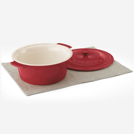 Cuisinart CCB630-25RC 3 Qt. (2.8 L) Round Covered Baker - Red