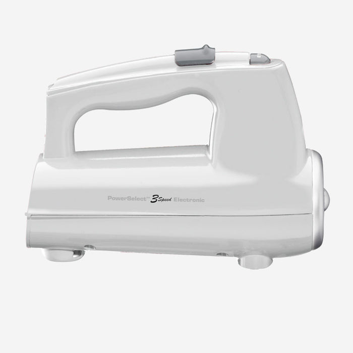 Cuisinart (CHM-3WC) 3 Speed Hand Mixer 220 Watts- White