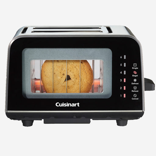 Cuisinart ViewPro CPT-3000C 2-Slice Glass Toaster