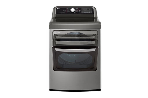 LG DLEX7900VE 7.3 cu.ft. TurboSteam™ Dryer with EasyLoad™ Dual-opening Door In Stainless Steel