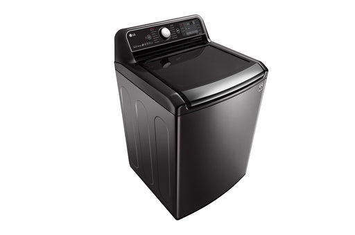 LG WT7850HBA 6.0 cu.ft. Capacity Top Load Washer with TurboWash3D™ Technology In Black Stainless Steel