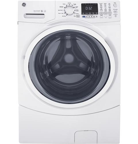 GE 4.5 DOE Cu. Ft. Capacity Frontload Washer with steam - Washer - GE - Topchoice Electronics