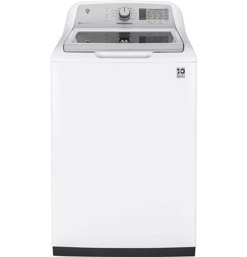 GE 5.0 DOE cu. ft. stainless steel capacity washer - Washer - GE - Topchoice Electronics