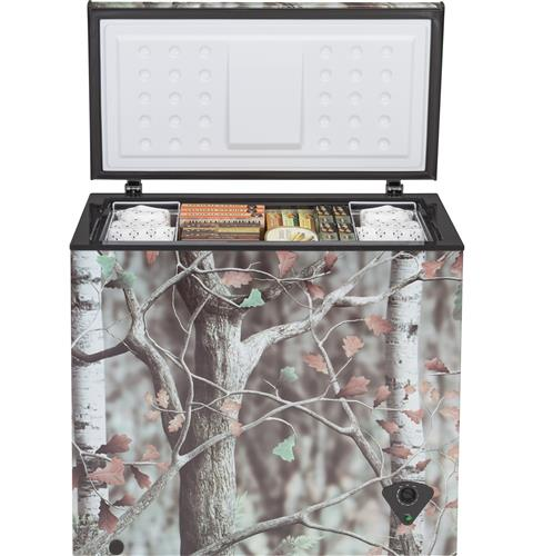 GE FCM7CKCD 7.0 Cu. Ft. Camouflage Manual Defrost Chest Freezer - Freezer - GE - Topchoice Electronics