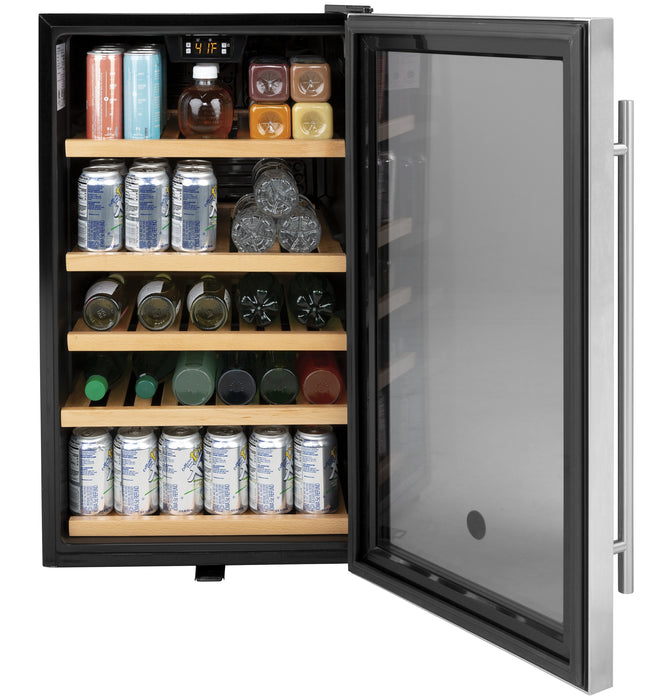GE GVS04BQNSS Beverage Center in Stainless Steel