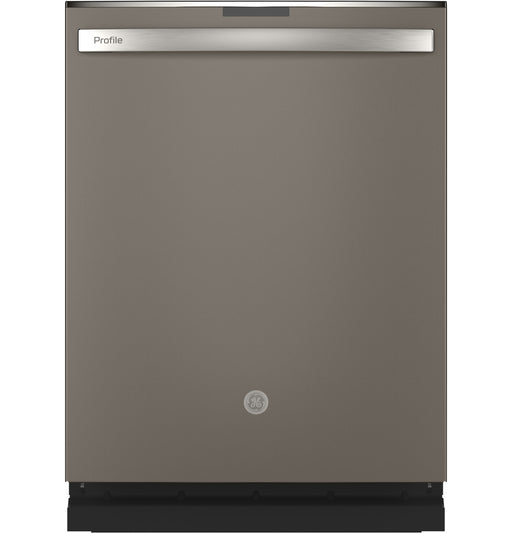 GE Profile PDT715SMNES Stainless Steel Interior Dishwasher with Hidden Controls In Slate