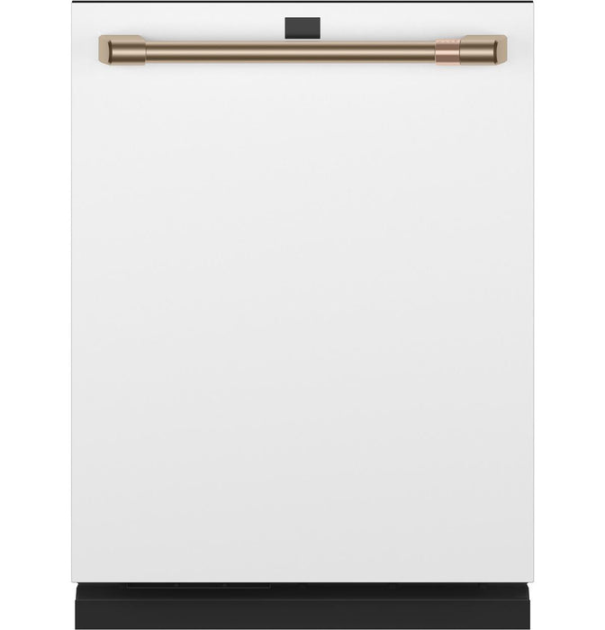 GE Cafe CDT875P4NW2 Smart Stainless Steel Interior Dishwasher with Sanitize and Ultra Wash & Dual Convection Ultra Dry