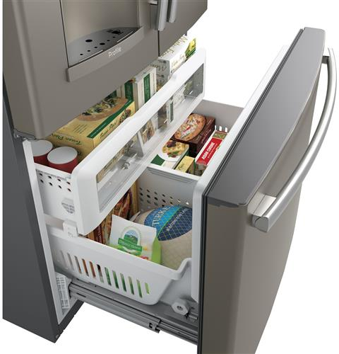 GE PROFILE 27.8 Cu. Ft. French-Door Refrigerator with Keurig Brewing System - Refrigerator - GE Profile - Topchoice Electronics