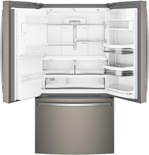 GE Profile™ Series ENERGY STAR® 22.2 Cu. Ft. Counter-Depth French-Door Refrigerator - Refrigerator - GE Profile - Topchoice Electronics