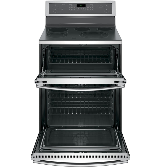 GE Profile PB960SJSS 30-Inch Free-Standing Electric Double Oven Convection Range In Stainless Steel