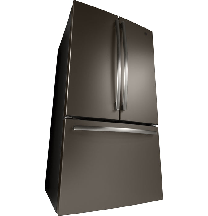 GE Cafe GNE27JMMES Energy Star 27.0 Cube Feet French-Door Refrigerator