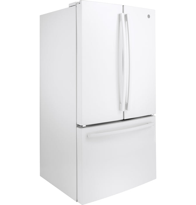 GE Cafe GNE27JGMWW Energy Star 27.0 Cube Feet French-Door Refrigerator