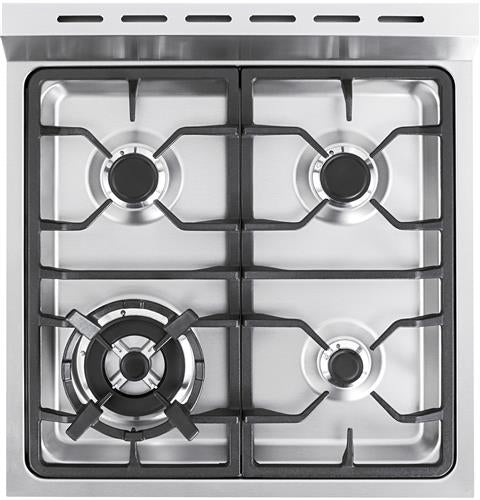 Haier 24 inch Free standing Electric Radiant Manual Clean - Cooking Range - HAIER - Topchoice Electronics